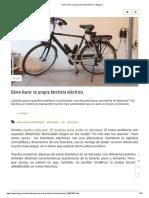 Cómo hacer tu propia bicicleta eléctrica _ Bioguia.pdf