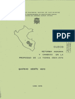1976 - Vera, Gustavo - Cuzco Reforma agraria y cambios en la propiedad.pdf