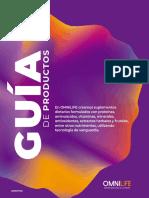 OMNILIFE GUIA PRODUCTOS ARGENTINA