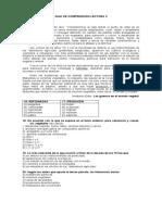 GUIA DE COMPRENSIÓN LECTORA II