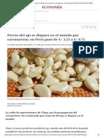 Economía_ Precio del ajo se dispara en el mundo por coronavirus_ en Perú pasó de _ NOTICIAS GESTIÓN PERÚ