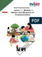 module 1ORAL COM