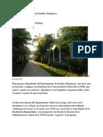 15-01-11 - 'En pausa' el programa de Estudios Hispánicos