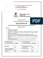 Business Law Sep 2020