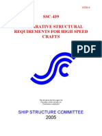 Comparative Structural Requirements for High Speed Craft