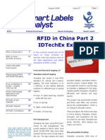 Report - RFID in CHINA (idTechEx 08_06)