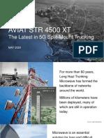 Webinar slides (EMEA)- Aviat STR 4500 XT, The latest in 5G split-mount trunking