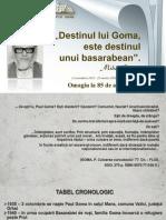 """""""Destinul lui Goma, este destinul unui basarabean"""" (Mihai Cimpoi) (2 octombrie 1935-25 martie 2020)"""