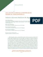 aulas inclusivas construidas desde el diagnostico