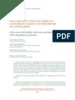 historias de vida de familias con hijos con sindrome angelman