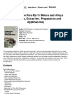 Handbook of RE and Alloys(P,E,Pre,App)