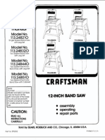bandsaw manual