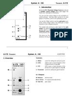 A-178 Theremin manual