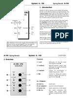A-199 SPRV manual