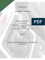 Bahan Ajar Transmisi Manual