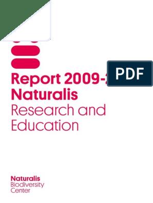 Met Foto Van Henk Wolda Report 2009 2012 Naturalis Research And Education Pdf Coral Reef Biodiversity