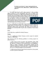 Letter of Judge Diaz - D