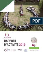 Rapport d'activité 2019 e-graine Auvergne Rhône Alpes