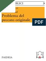 Pierre Grelot - Riflessioni sul problema del peccato originale-Paideia (1994)
