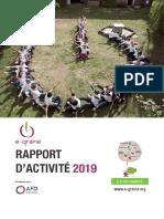 Rapport d'activité 2019 e-graine Île-de-France