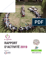 Rapport d'activités 2019 e-graine Occitanie