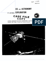 Geophyisics and Astronomy in Space Exploration