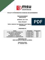 TM Final Project Report