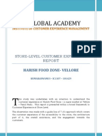 final report on the retail - Harish food zone