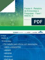 Produto 4A - Entrevistas e pesquisas Anexo A