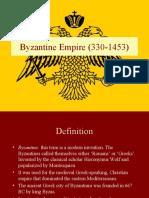 Byzantine History