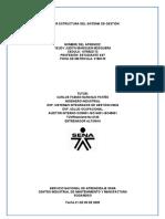 AA3.TALLER ESTRUCTURA DEL SISTEMA DE GESTIÓN