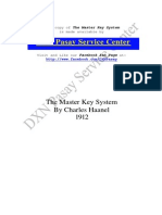 The Master Key System by CharlesHaanel -PASAY