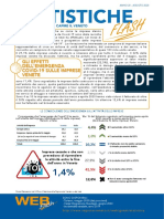Statistiche Flash della regione del Veneto Agosto 2020