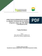 Davidenco - Aspectos ecofisiológicos que determinan la productividad de ecotipos de orégano.. .pdf