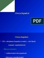 Cirozele hepatice I+II+III. Carcinomul hepatocelular.odp