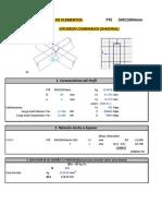 13.2 VERIFICACION ELELEMNTO PTE T50X150X4mm (DIAGONAL)