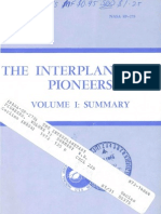 The Interplanetary Pioneers. Volume 1 Summary