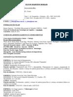 Curriculum - Elton Martins Morais atualizado