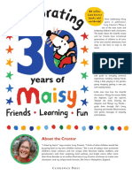 Maisy 30th Anniversary Press Kit Pages