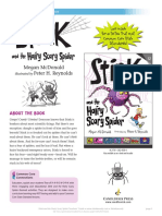 Stink and the Hairy Scary Spider Teachers' Guide