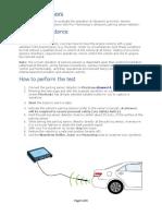 Car park sensor info Meister