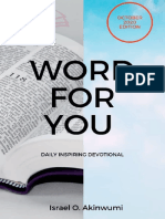 Word For You October devotional