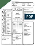 D&D 5e Scheda Personaggio - Knight