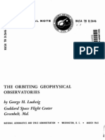 The Orbiting Geophysical Observatories