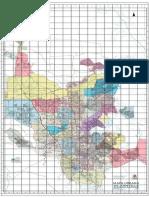 Mapa Do Município de Joinville Fev2018 Área Urbana Bairros Delimitados Por Cores