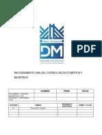 SIG-GD-P-001_Procedimiento para el Control de Documentos y Registros.docx