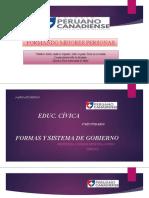 FORMAS Y SISTEMAS DE GOBIERNO-cívia 4° Sec.pptx