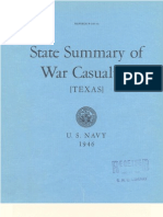 WWII Texas Navy Casualties