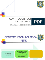 SEMANA 3  CONSTITUCIÒN POLÌTICA  CONCEPTO CARACTE`RISTICAS , OBJETO Y FORMAS.pptx