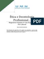 Manual Ética Deont. Profisional 2019